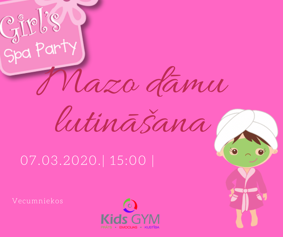 Girls SPA party!